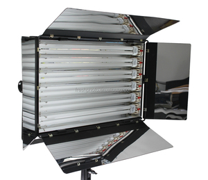 Photographic Equipment 3200K / 5500K Tricolor Light Softbox with 6 Socket Lamp Tubes