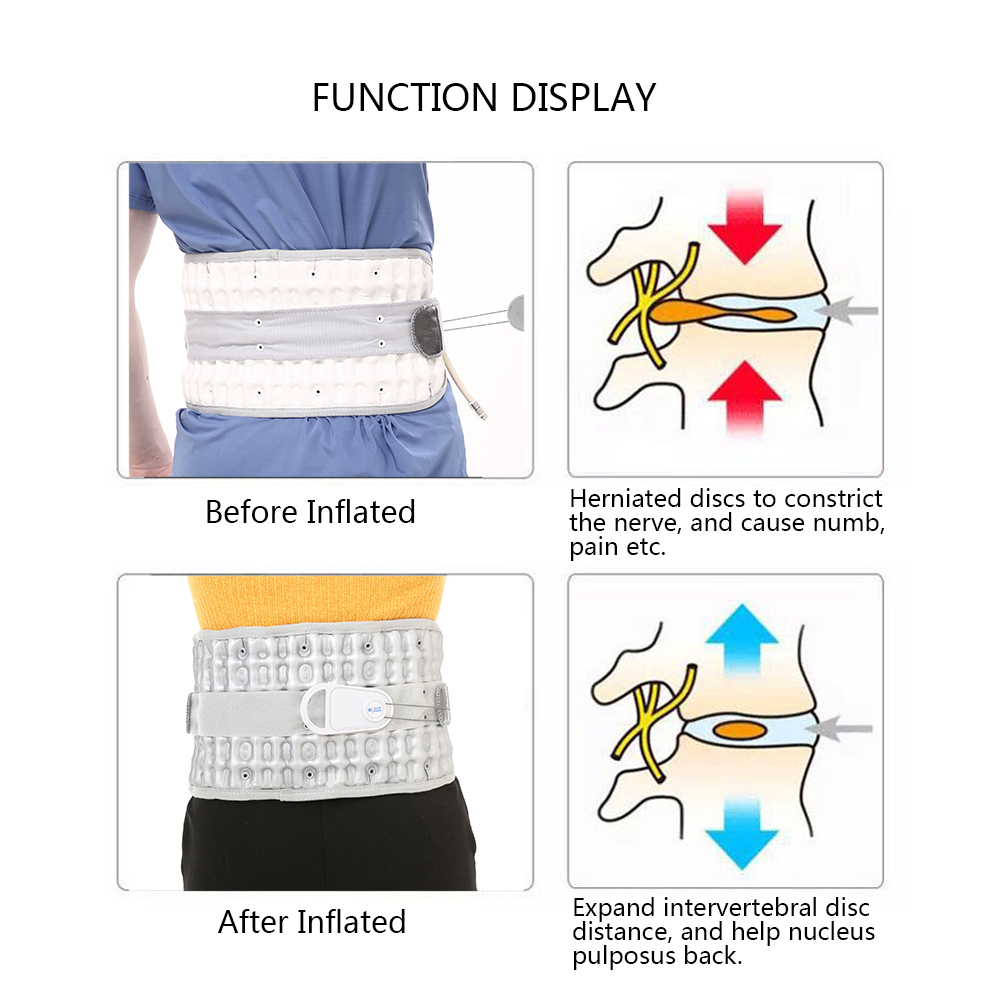 Medical Physiotherapy Orthopedic Hunchback Lumbar Support Back Relief Belt