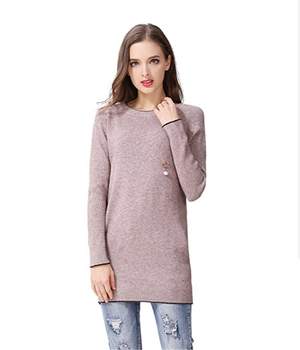 006080d11b69 Pk18a73hx Pullover Women Dress Round Neck Cashmere Sweater - Buy ...