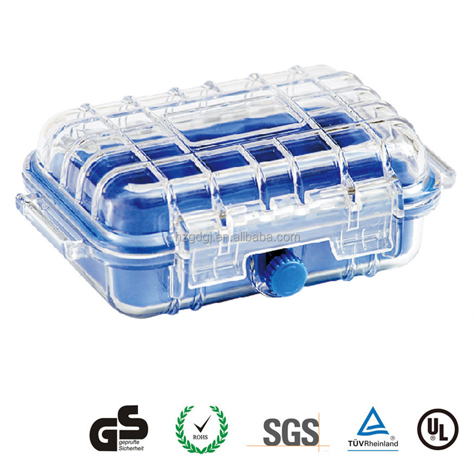 New arrival GD1010 6 inch water proof <strong>plastic</strong> micro device <strong>case</strong>