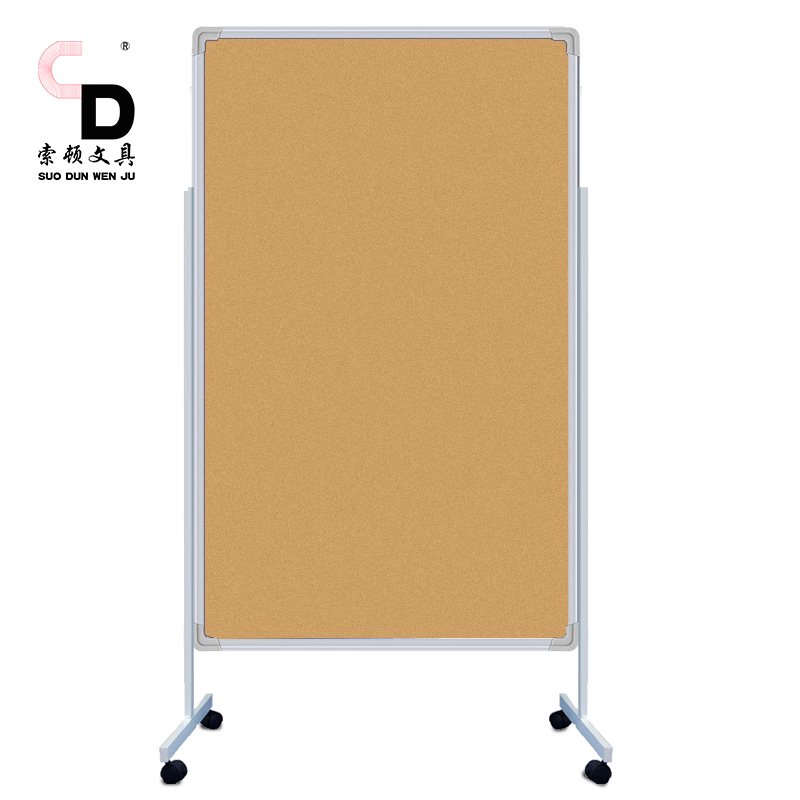 Large Cork Boards High Quality Wood Frame Drawing Bulletin Board Stand