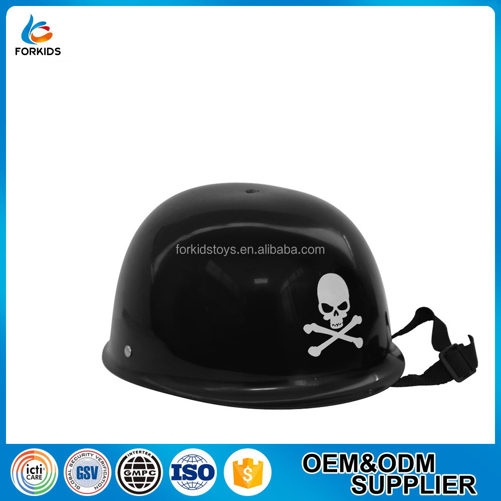 HOT SELLING OEM KIDS PLASTIC CHEMICAL ENGINEER OR PIRATE HAT TOY FOR SCHOOL COSPLAY OR PRETEND EDUCATIONAL TOY