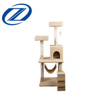Good Quality Large Luxury Cat Scratching Tree Cat House Outdoors