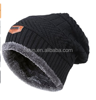 Men's Winter Knitting Skull Cap Wool Warm Slouchy Beanie Hat