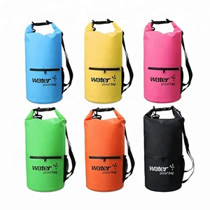 Portable floatable ocean pack waterproof case hot-selling 5l 10l 20l 30l 500d pvc dry bag