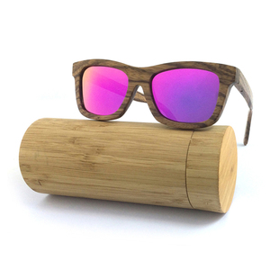 2018 Zebra Wood Sunglasses Polarized UV400 CE