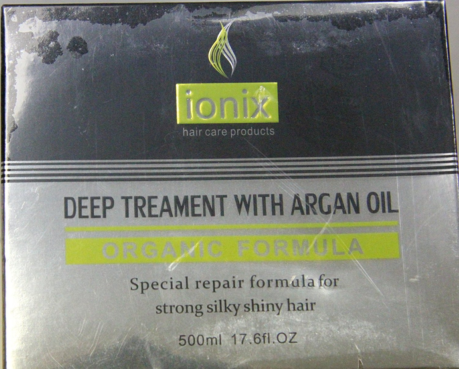Iso Beauty Ionix Organic Deep Treatment Conditioning Hair Mask with Argan Oil