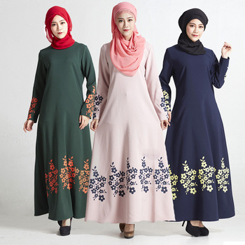 5b856b1aca0 Islamic Clothing Muslim Jilbab Long Casual Dress - Buy Long Dress ...