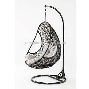 Swing Egg Stoel.Hot Selling Outdoor Hanging Egg Chair Leisure Swing Chair Hammocks
