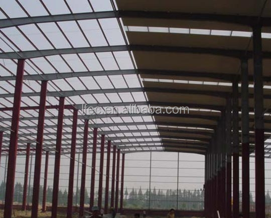 Waterproof Steel Arch Truss Roof