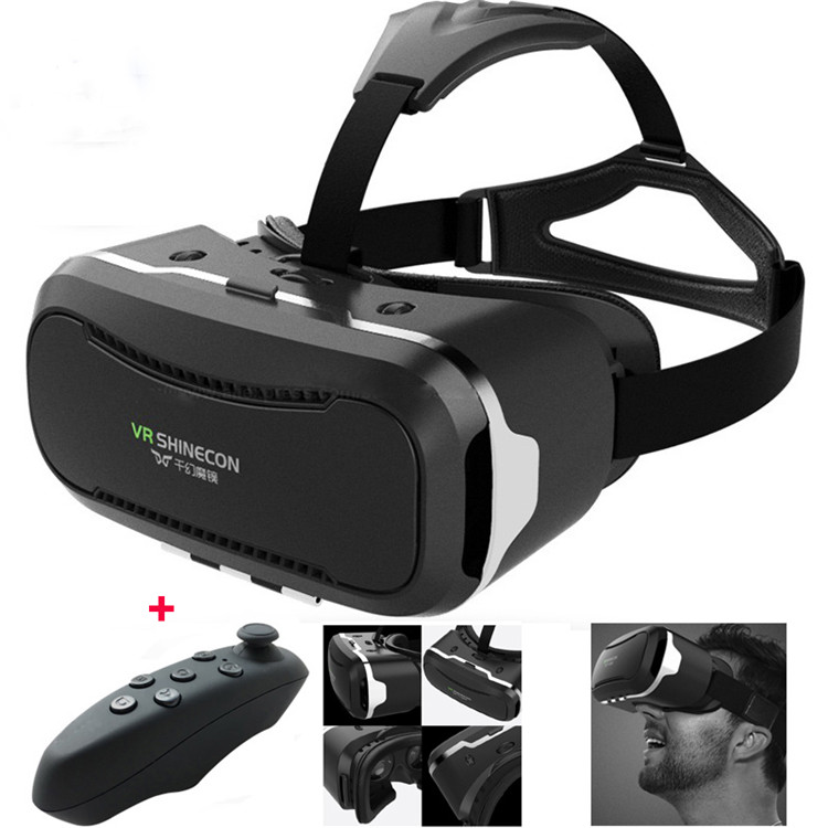 wholesale price best selling VR headset 3d virtual reality glasses video,VR Shinecon 2.0 3d glasses