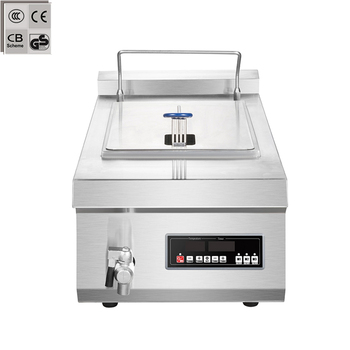 commercial electric induction deep fryer