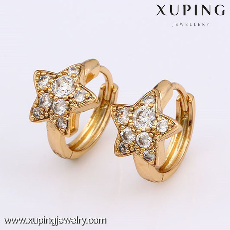 24795 Lastest Design 18k 2 Gram Gold Beautiful Designed Earrings ...