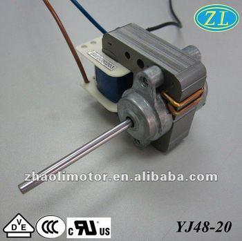 Small Powerful Electric Motors Electric Fan Motor Yj48-20:120v,60hz ...