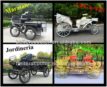 4 wheels tourism horse carriage wagonette horse wagon calash
