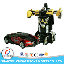 Hot deformation robot race smart car diecast toys for sale