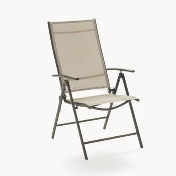 Strange Steel Folding Garden Chairs Adjustable With Armrests 7 Position Adjust With High Back Comfortable Buy Folding Garden Chairs 7 Position Ncnpc Chair Design For Home Ncnpcorg