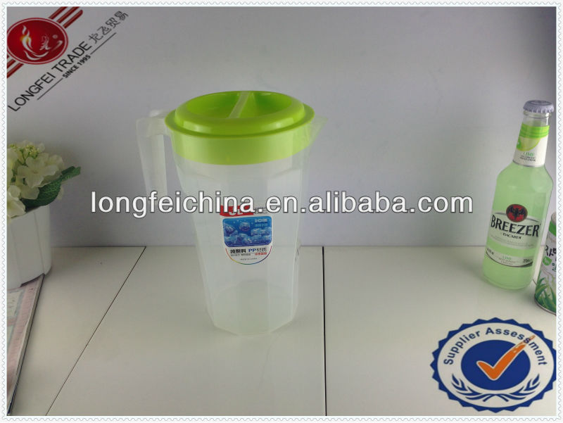 2000ML With Lids Plastic Insulated Water Cooler Jug