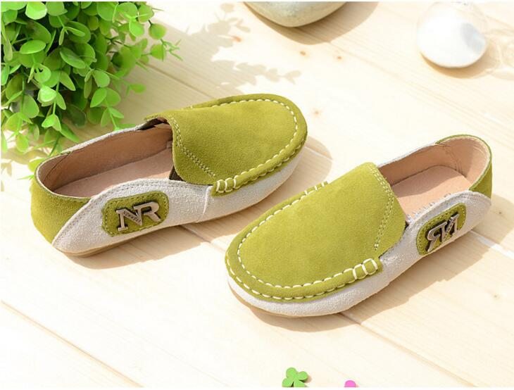 2016 Spring Eur21-35 Super Quality Chaussure Enfant Children Genuine  Leather Male Kids Shoes, Boy Baby Leisure Shoes . - us310 6f22ae9536