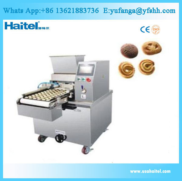 PLC easy operate cookies making machine / wire cutting cookies machine