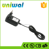 oem factory EU plug 18w wall type ac dc power adapters, 12v 1.5a power adapter for led light