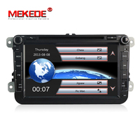 2 Din 8 Inch Car DVD Player For VW/POLO/PASSAT/Golf/Skoda/Octavia/SEAT/LEON With Wifi Radio GPS Navigation 1080P Ipod FM