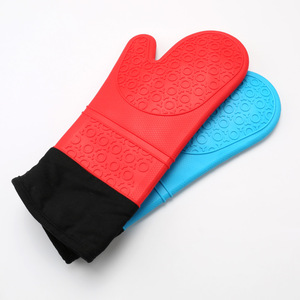 wholesale heat resistant silicone oven mitts with cotton