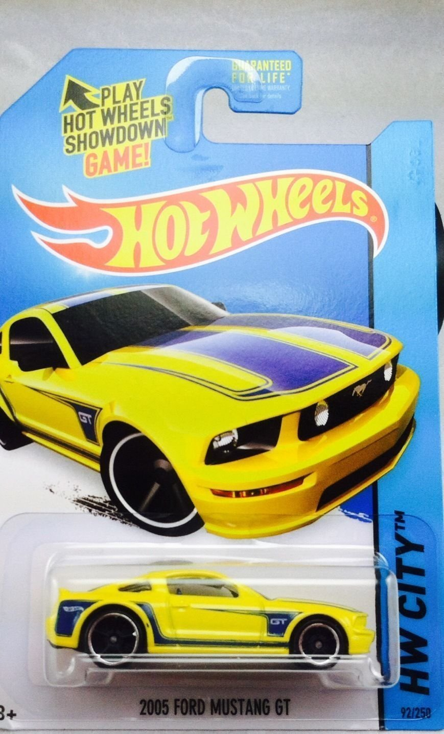 2014 hot wheels hw city 2005 ford mustang gt yellow