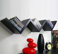 Simple design wooden CD rack for sale