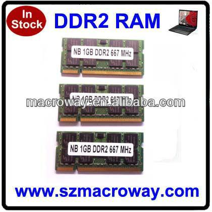 PC ddr2 so dimm socket 2gb ram