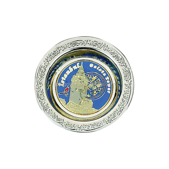 European Style Stainless Steel Ashtray Round Cigar Ashtray Custom Ashtray with Custom Logo