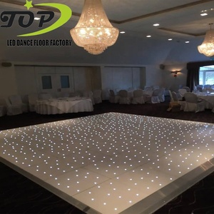 Wedding decor led starlit sparkle lights dance floor for rental dubai