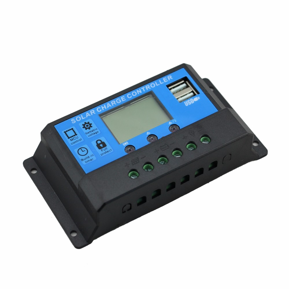 China Usb Time Control Wholesale Alibaba Details About 30a Solar Charge Controller Regulator 12v 24v Pwm 30amp