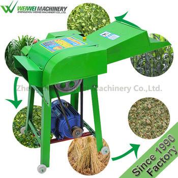 Hot Sell grass fodder cutting machine homemade chaff cutter forage machines for animal from China supplier