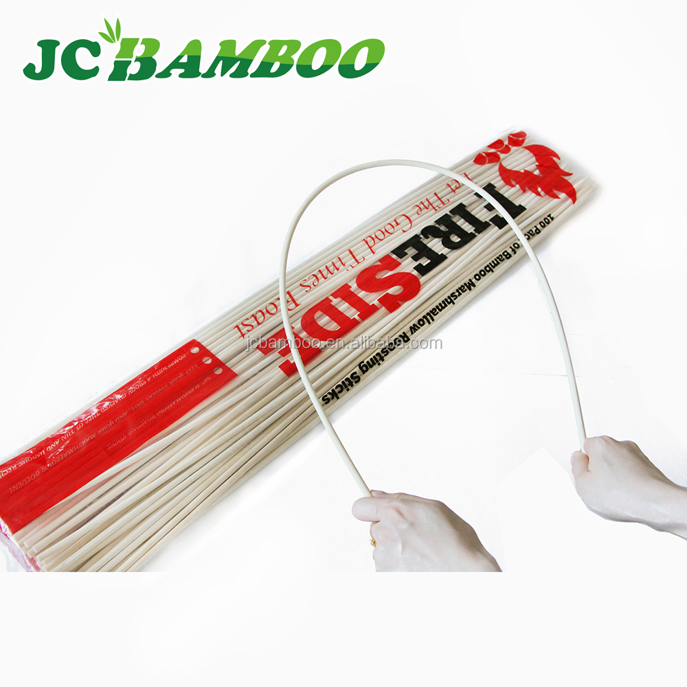 12cm double loop bamboo picks/skewers/fruit sticks