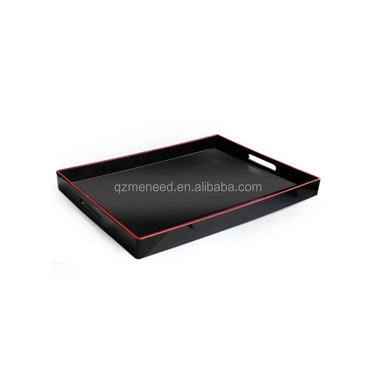 China supplier hot sale food grade melamine Turkish serving tray