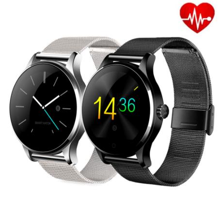 K88H Smart Watch Heart Track Wristband MTK2502 Bluetooth Smartwatch Heart Rate Monitor