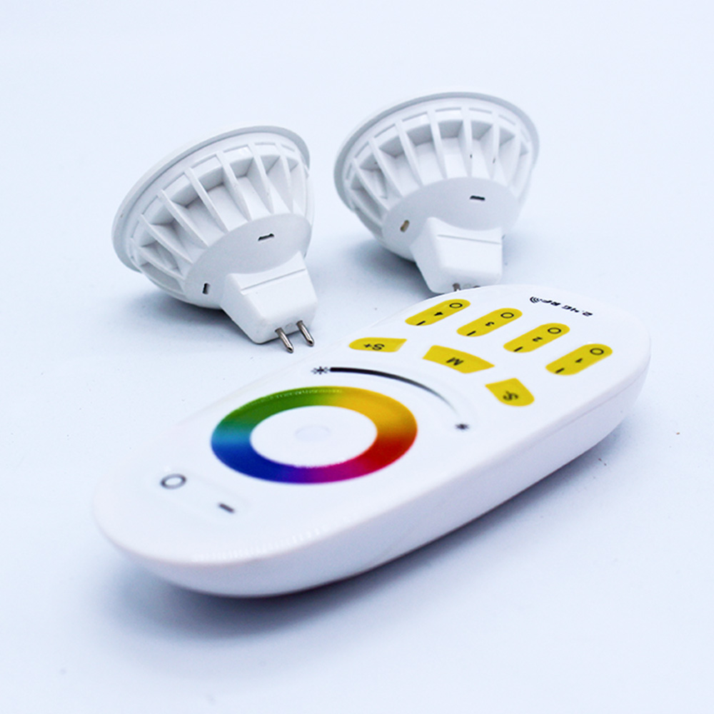 Good price led for home <strong>Gu10</strong> spotlight RGB changeable dimming 1~100% multi zone Remote control