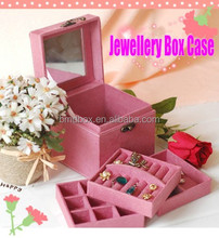 new arrivals beauty jewelry box unique bulk promotional gift for kids