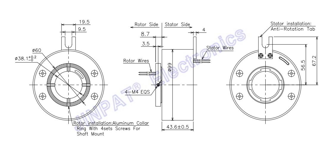 Electrical slip ring