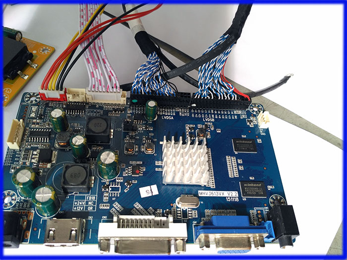 2k Qhd Lvds Auo Lcd Panel M27qan01 Monitor Skd Ad Board