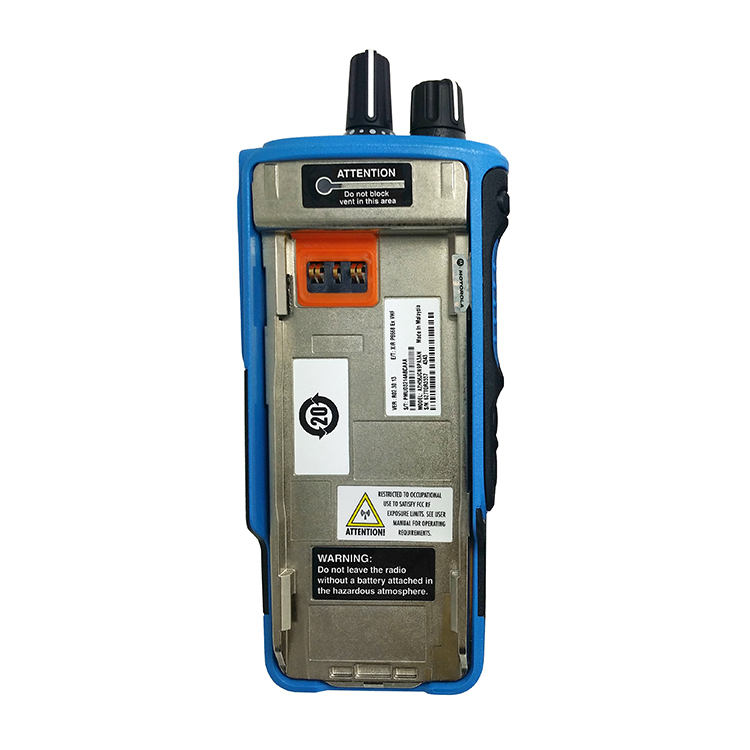 Motorola Mototrbo ATEX  Gas and  Oil  portable Two Way Radio DP4801EX  Intrinsically Safe walkie talkie