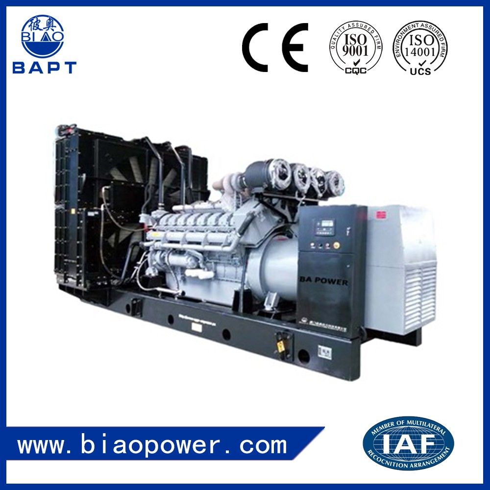 New China Genset Power Engine Open Diesel Generator Set