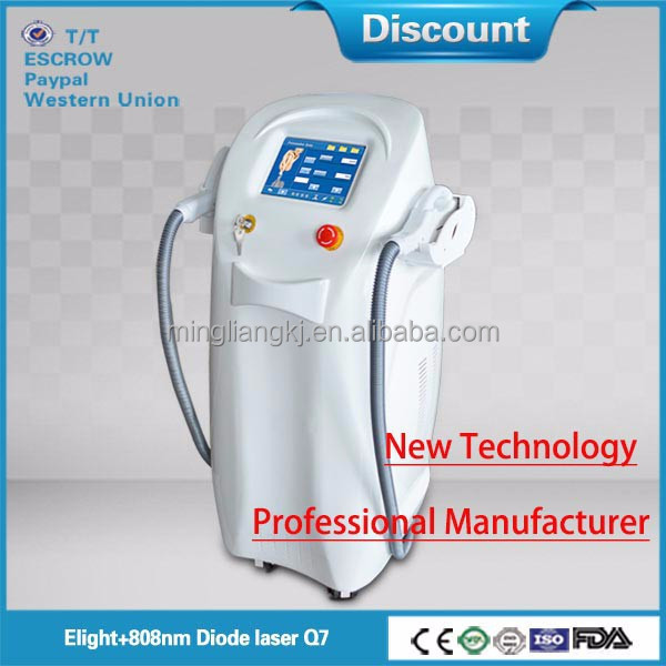 IPL + RF Elight&808 Q7 laser diode Beauty & Personal Care Equipment