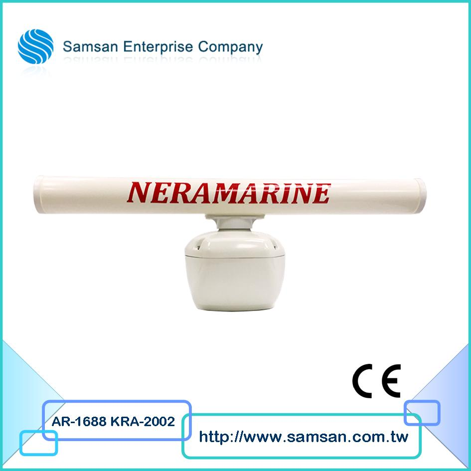Detection device marine radar for fishing ship