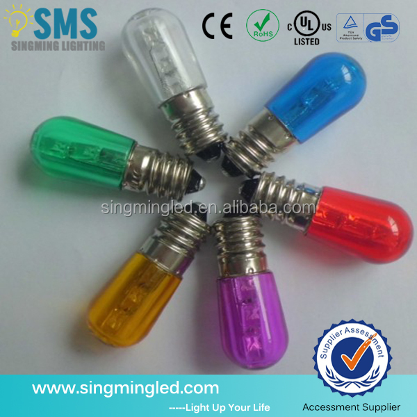 LED Colorful Papaya E14 LED Bulb Replacement Bulbs White /Red Papaya/Orange/Blue/Green/Yellow Color