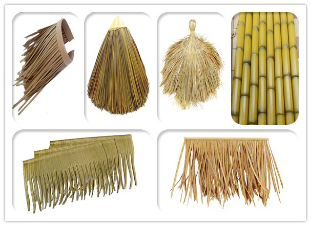 Artificial imitation of palm thatched roof of palm thatch roof