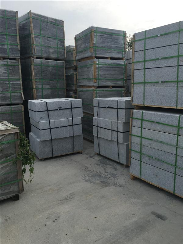factory directly sale grey granite kurbstone with great price