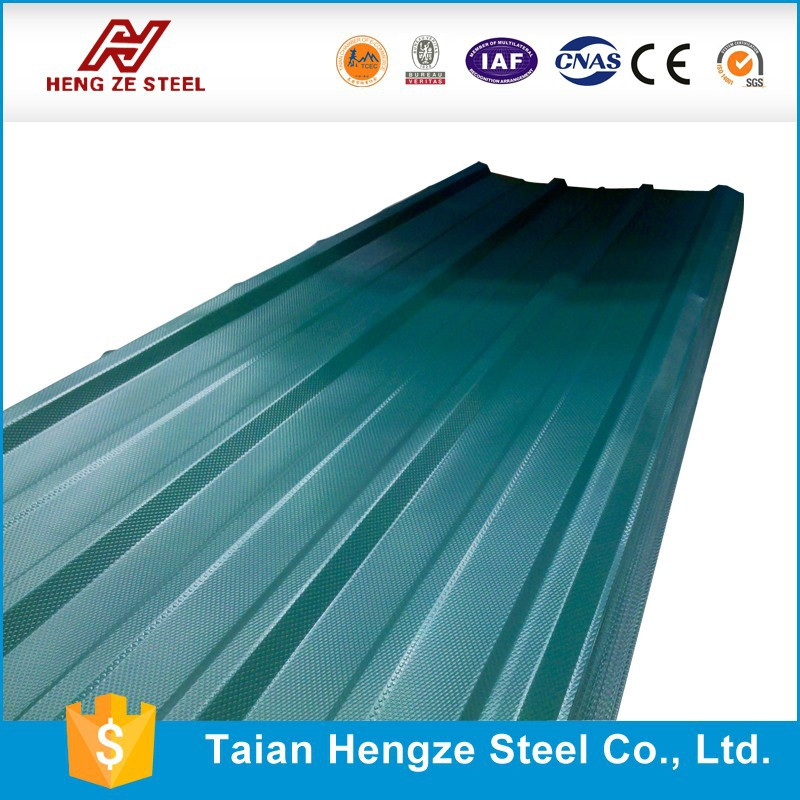 Prime 22 Gauge Corrugated Steel Roofing Sheet,Contruction Material 914mm width zinc 50 From Shandong Factory directly sale