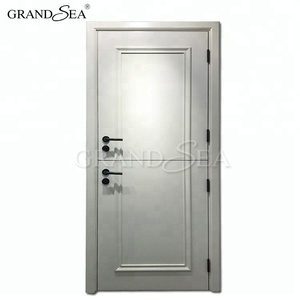 low price interior doors solid wooden dutch door pictures with glass material